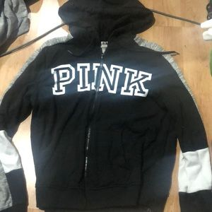 Victoria secret PINK zip hoodie